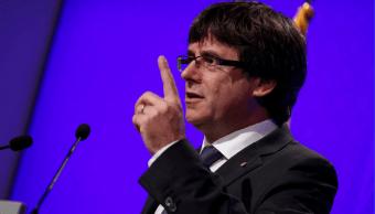 Carles Puigdemont, presidente regional de Cataluña