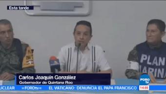 Carlos Joaquín González Anuncia Medidas Prevención Nate