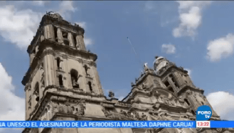 Catedral Cdmx Repara Daños Sismo 19s 19 De Septiembre