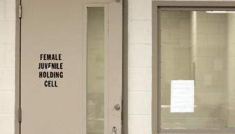 Centro de detención de migrantes en Brownsville, Texas