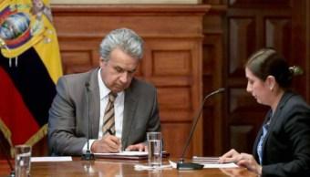 Oficialismo ecuatoriano cesa Lenín Moreno como su presidente