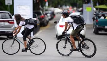 ciclistas reunen viveres damnificados sismos