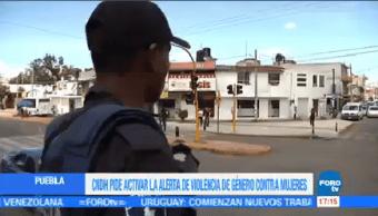 Cndh Pide Alerta Género Puebla Comisión Nacional De Los Derechos Humanos
