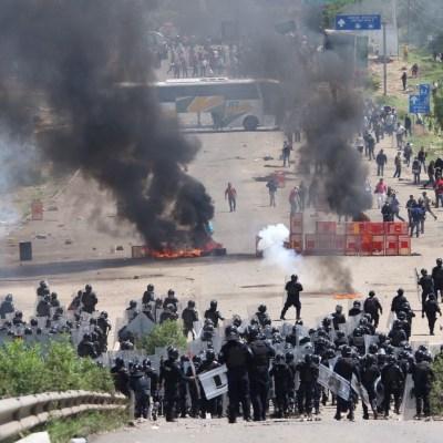 CNS acepta recomendación de la CNDH sobre caso Nochixtlán