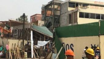 PGJ-CDMX investiga a responsables de obra de colegio Rébsamen