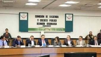 Comisión de Hacienda aprueba dictamen de Ley de Ingresos 2018