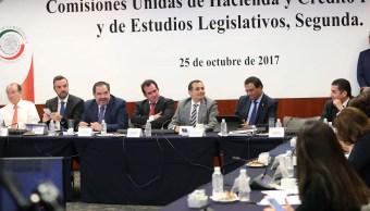 Analizan Ley de Ingresos 2018 en comisiones del Senado