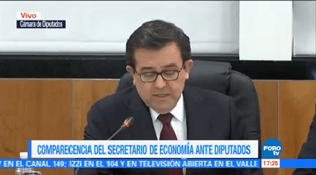 Comparece Ildefonso Guajardo Diputados Secretario Economía