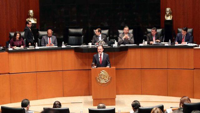 México es mucho más grande que el TLCAN, afirma Luis Videgaray