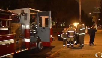 Conato de incendio frente a la Cámara de Diputados
