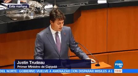 Concluye Visita Justin Trudeau México