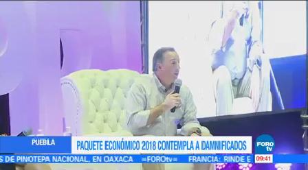 Contempla Paquete Económico 2018 Recursos Damnificados Sismos José Antonio Meade