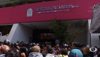 damnificados protestan modulo gobierno reclamar ayuda