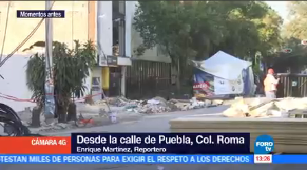 Delegación Cuauhtémoc Afectada Sismo 19-S Puebla Colonia Roma Norte