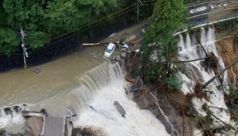 Al menos seis muertos deja el tifón 'Lan' en Japón