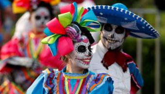 Desfile del Día de Muertos en la Ciudad de México