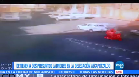 Detienen Dos Presuntos Ladrones Delegación Azcapotzalco