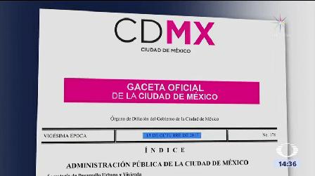 Dictámenes Seguridad Estructural Forma Gratuita Cdmx Publica Acuerdo