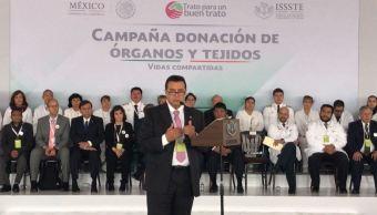 issste inicia campana donacion de organos