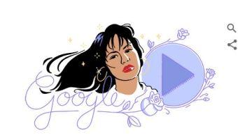doodle de goole recuerda a la cantante selena