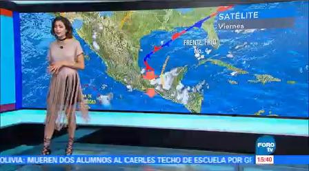 Clima A Las Tres Daniela Álvarez Zona De Inestabilidad