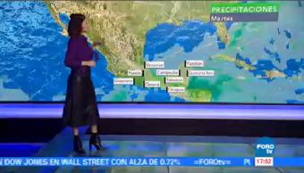 Clima Noticias Daniela Álvarez Registran Lluvias