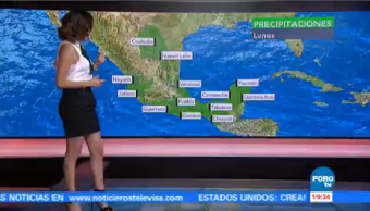 Clima Hora Daniela Álvarez Tres Canales Baja Presión
