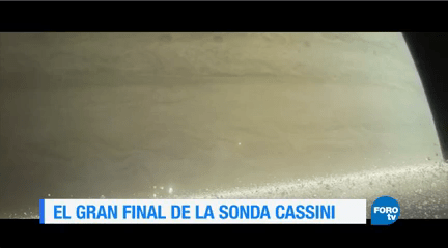 Fin Sonda Cassini Septiembre Concluyó Misión Saturno