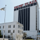El hotel y casino Trump Plaza en en Atlantic City, Nueva Jersey