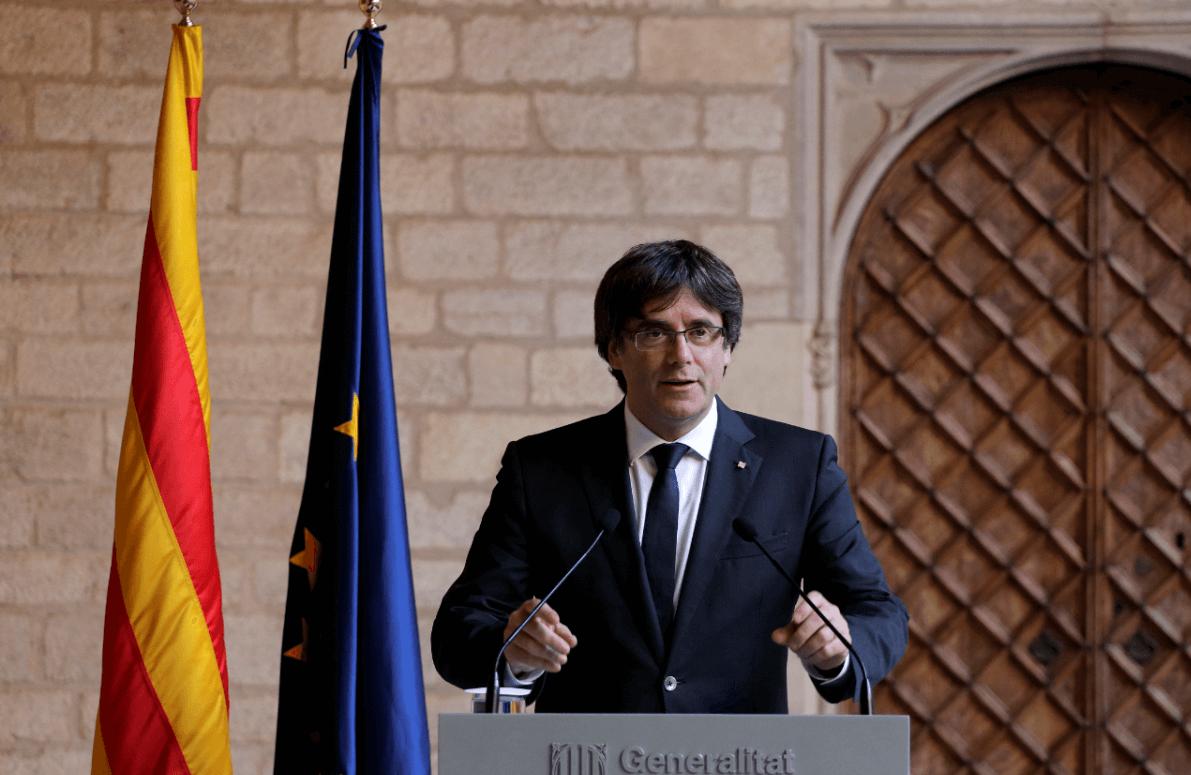 Piden orden de aprehensión contra expresidente catalán
