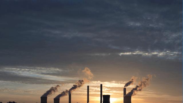 Emisiones de carbono en Estados Unidos