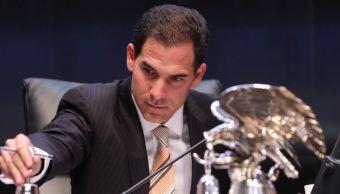 Conceden licencia a senador Pablo Escudero