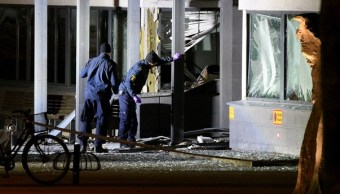explosion causa danos materiales comisaria suecia