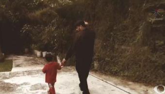 Fotógrafo de Morelos y su hijo