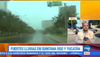 Fuertes Lluvias Afectas Afectan Yucatán