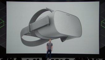 Zuckerberg presenta Oculus Go nuevas gafas virtuales