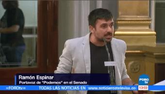 Gobierno Suspendió Democracia Cataluña Organización Podemos
