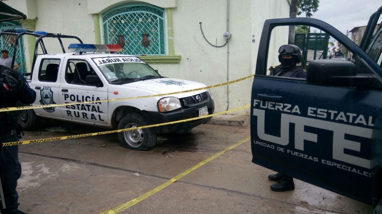 Falsos militares atacan a Policía Rural en Guerrero