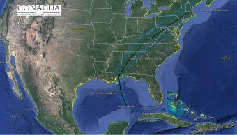 'Nate' avanza con categoría de huracán hacia la costa de EU