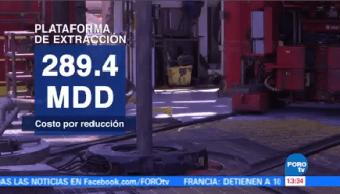 Huracanes Sismos Abaten Producción Pemex Plataforma Extracción De Crudo