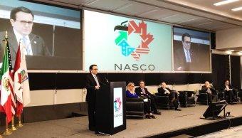 Ildefonso Guajardo destaca el desempeño de la economía nacional