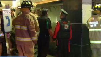 Incendio en tienda de conveniencia de Tlalpan