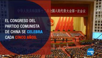 Inicia el Congreso del Partido Comunista de China
