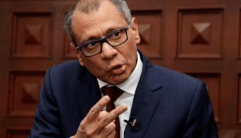 Jorge Glas, vicepresidente de Ecuador. (AP, archivo)