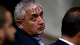 Envían juicio corrupción expresidente Guatemala Otto Pérez Molina