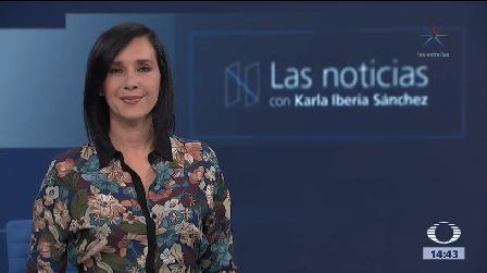 Las noticias, con Karla Iberia: Programa del 23 de octubre de 2017