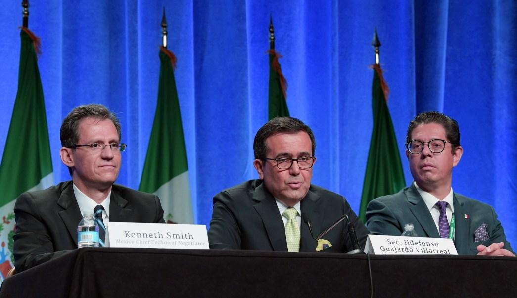 Secretaría de Economía tomará el tiempo necesario para renegociar el TLCAN