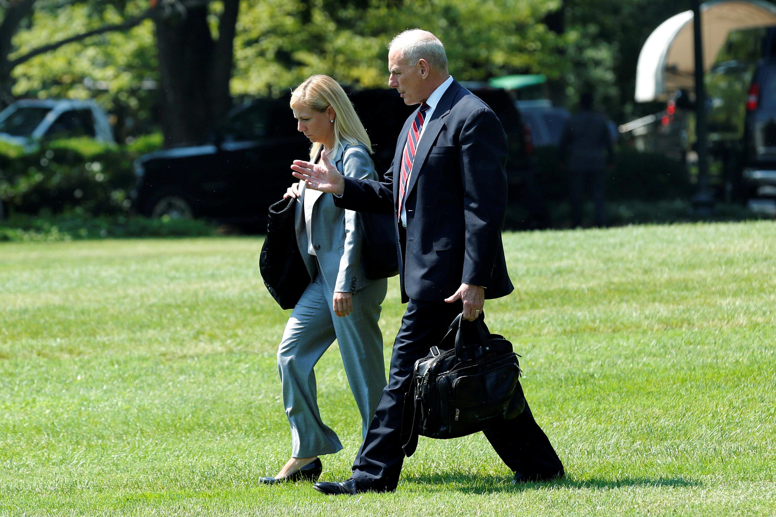 Trump nomina a Kirstjen Nielsen como secretaria de Seguridad Nacional