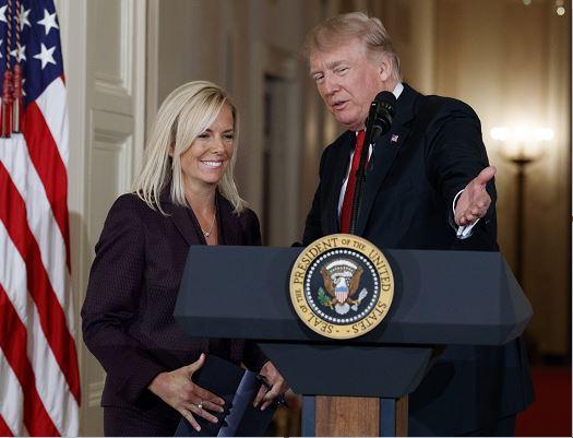 Trump nomina oficialmente a Kirstjen Nielsen para dirigir Seguridad Nacional