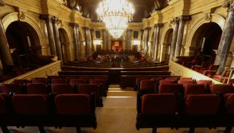 La sala del Parlamento de Cataluña. (Reuters, archivo)